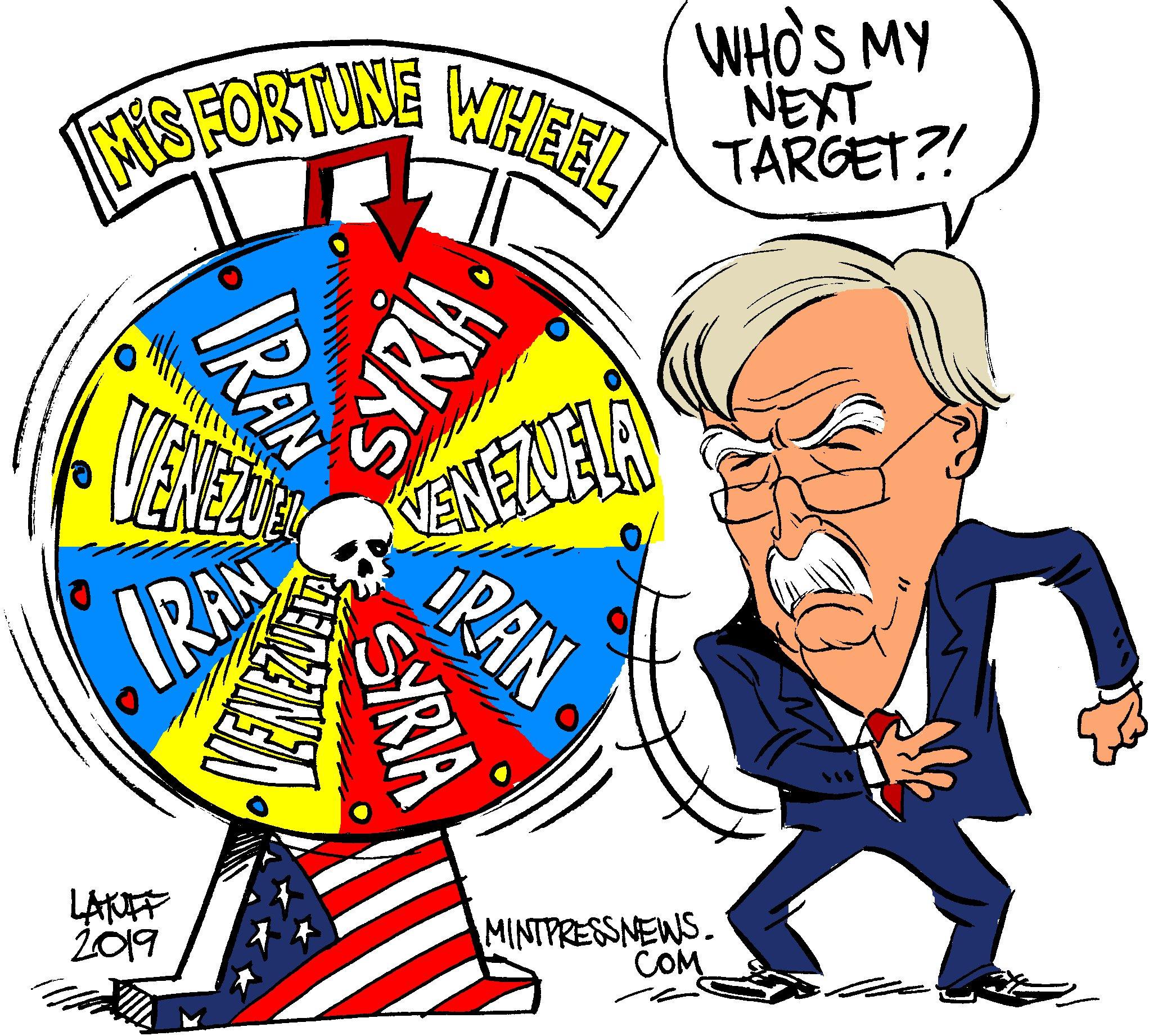 So, who is next?  New cartoon from @LatuffCartoons. https://t.co/oGHXXdsVzK