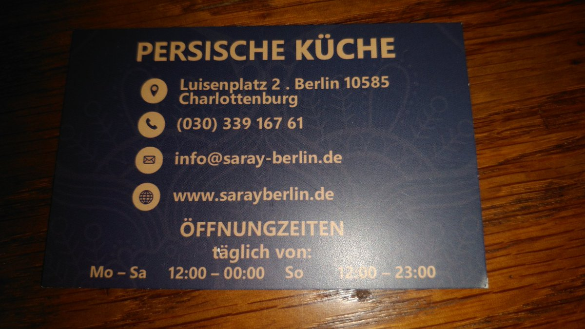https://t.co/SQKm0ONkjl geschmacklich exzellent... #Berlin Schloss #Charlottenburg https://t.co/7hDAvhSdu9