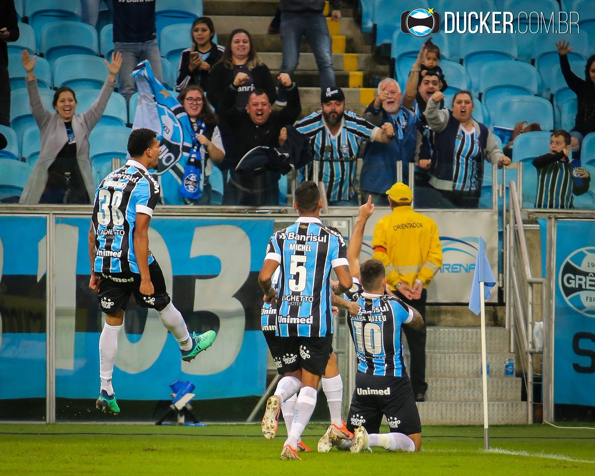 RT @Ducker_Gremio: Que seja o começo de uma nova série de vitórias! Vamos Grêmio! 🔵⚪⚫ https://t.co/pHZMvId5hO