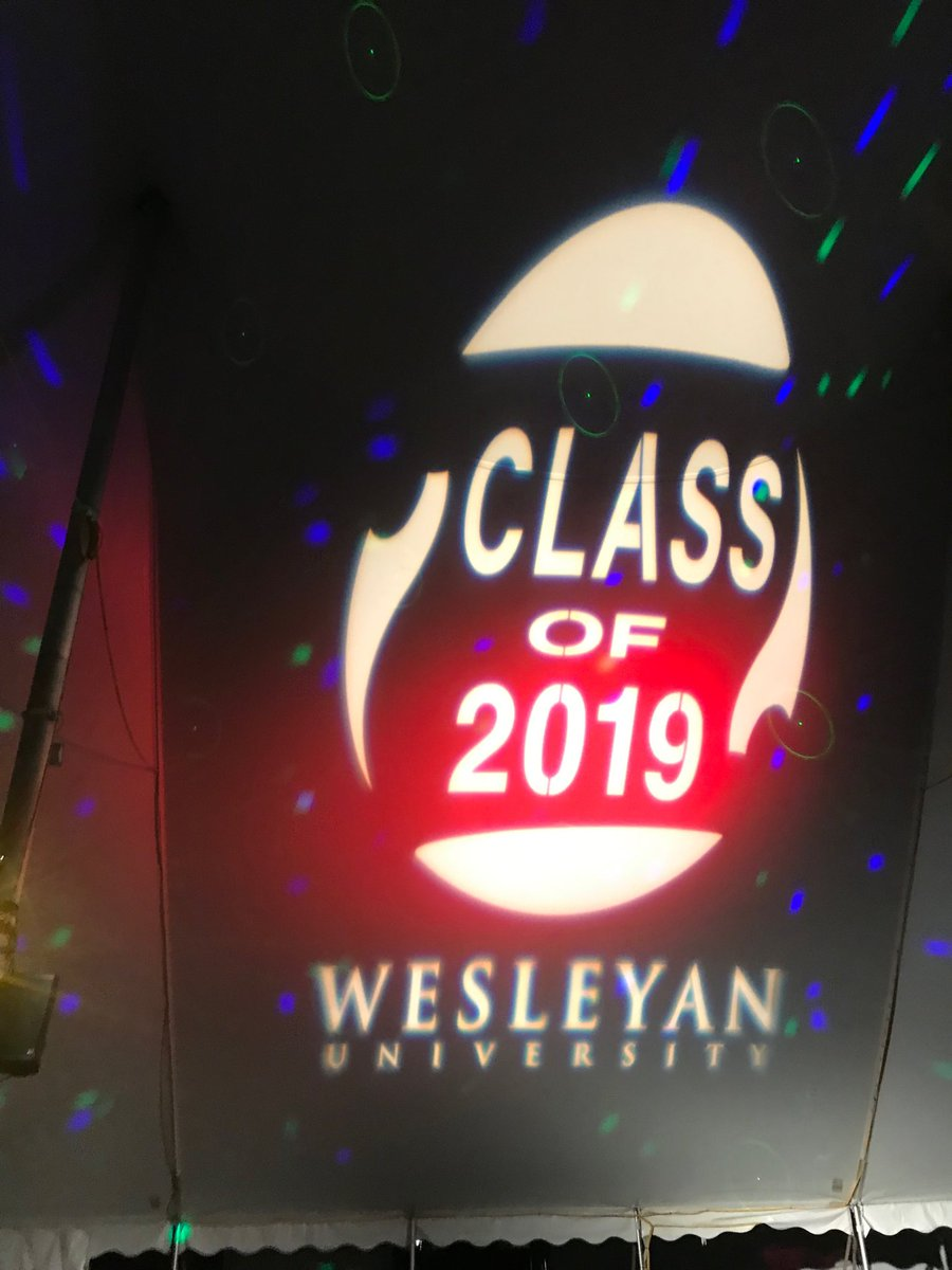 test Twitter Media - Congratulations ⁦@wesleyan_u⁩ #2019 #YouCanDance https://t.co/hUwR8NvCEq