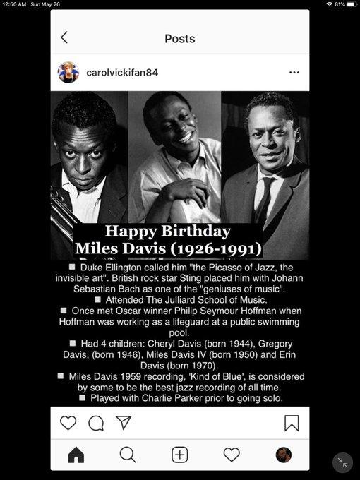 Happy Birthday! Miles Davis, Pam Grier, Lauryn Hill and Lenny Kravitz!