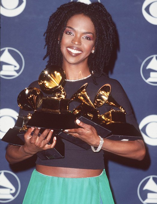 Happy 44th birthday to the groundbreaking singer, songwriter, and rapper Lauryn Hill.