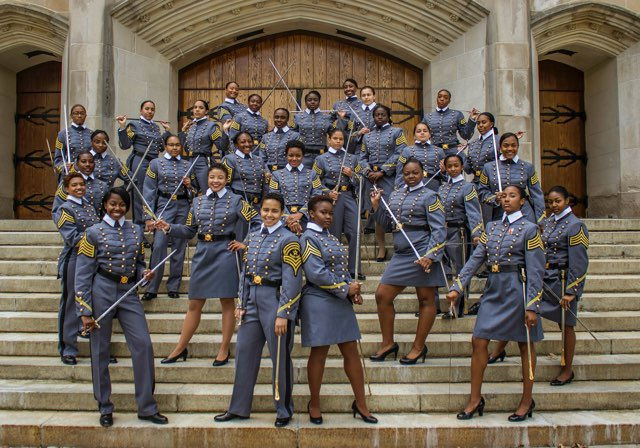 Congratulations to West Point's Class of 2019! #BlackGirlMagic https://t.co/vnkFHDPE6U