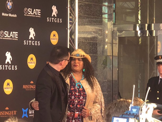 Happy birthday, Pam Grier, here is the icon last year taken by Digital Officer .