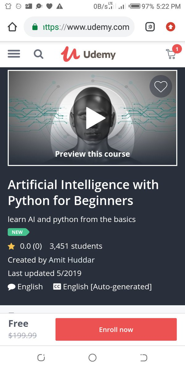 test Twitter Media - Learn Python and AI for free... #programming #100DaysOfCode #programmer #AI #MachineLearning #ArtificialIntelligence https://t.co/qh4rA1UjRB https://t.co/krrDFBSDji