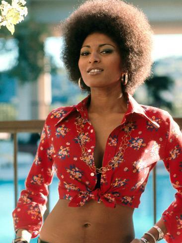 """Happy birthday to \""""Foxy Brown\"""" herself Pam Grier. Born in North Carolina in 1949."""