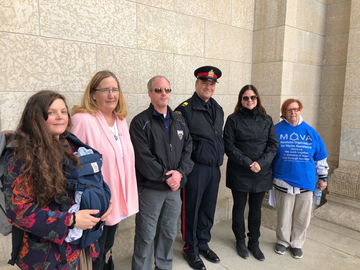 test Twitter Media - Proud to speak on behalf of @Min_CliffCullen at the annual Manitoba Organization for Victim Assistance annual march and shrub planting in honour of victims of homicide. Our government will always stand up for victims and their families. https://t.co/tAC7lq3mD1