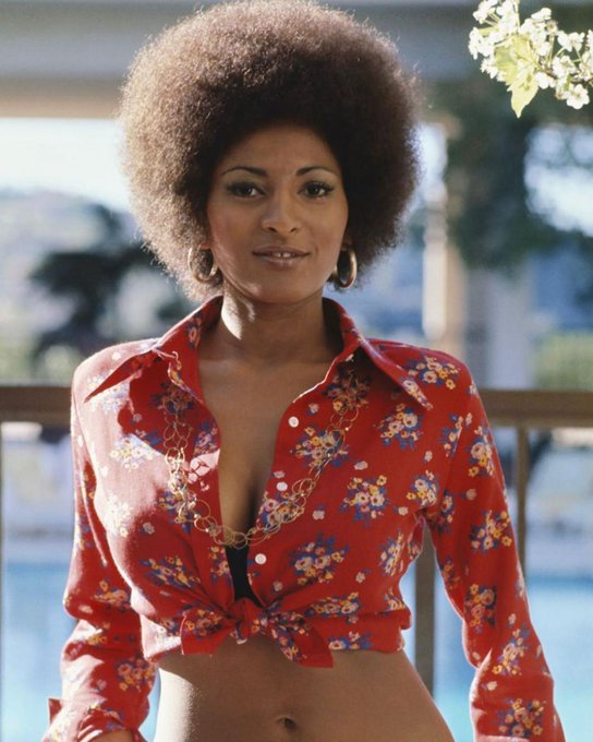 """Happy birthday to the beautiful Pam Grier. - - : Michael Ochs Archive/Getty Images\"""""""