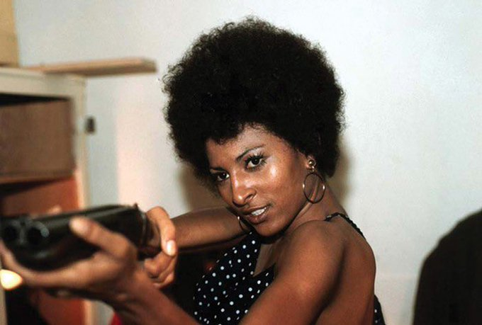 Today is a Legend s birthday. Happy birthday Pam Grier!