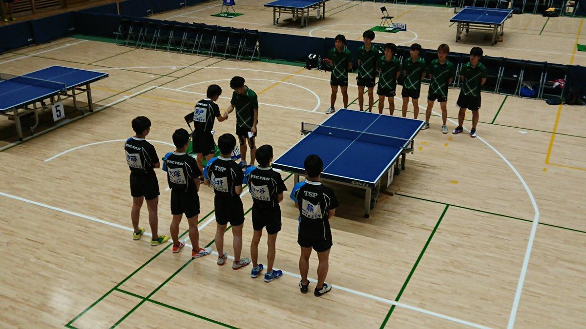 RT @tokai_ttc: インカレ予選 男子 代表決定戦 東海大学 vs 埼玉大学の試合が始まります。 https://t.co/oBKKmG0cTr
