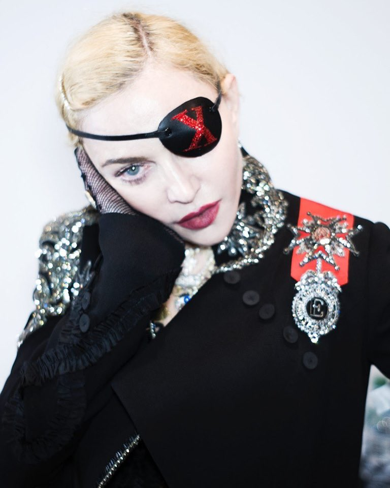 Madame ❌ starts her week seeing and hearing no evil.......... #madamex https://t.co/AQmyc1U7yW