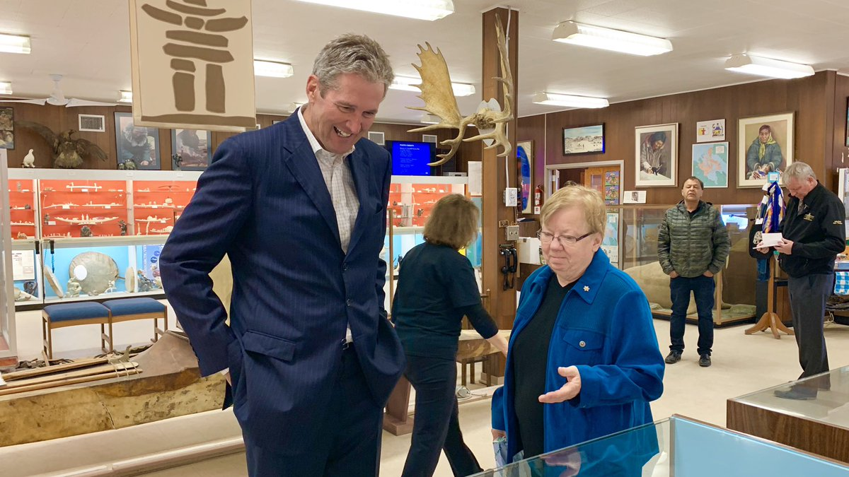 test Twitter Media - Celebrating #TourismWeek in Canada by visiting Churchill — the crown jewel of northern Manitoba! Starting the day at the Itsanitaq Museum which has one of the finest Inuit art collections in the world. #LookNorthMB #mbpoli https://t.co/ny16nG9FDZ