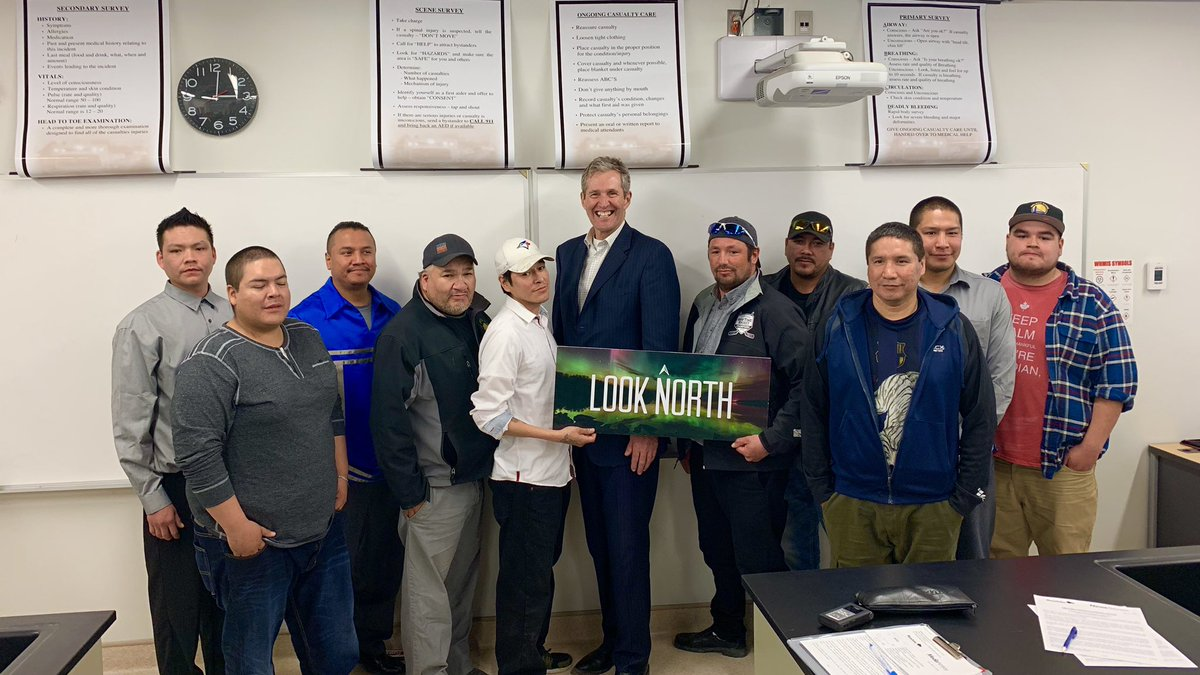 test Twitter Media - Congrats to the 12 grads from Pimicikamak Cree Nation who  received training & jobs w/ HudBay Minerals in Snow Lake! Learn more about how we are working together with First Nations & industry to employ NORTHERN Manitobans in NORTHERN jobs! #mbpoli https://t.co/dnf5d8ffRN https://t.co/gUC6YjVYYr