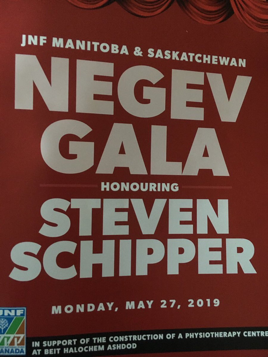 test Twitter Media - It was my pleasure to bring greetings at the Negev Gala honouring Steven Schipper, outgoing Artistic Director of the @MTCwinnipeg and a cultural community Leader. Thank you to @JNFca, board President Jessica Cogan and Executive Director ArielKarabelnicoff for the invitation. https://t.co/2uF1sRiu9C