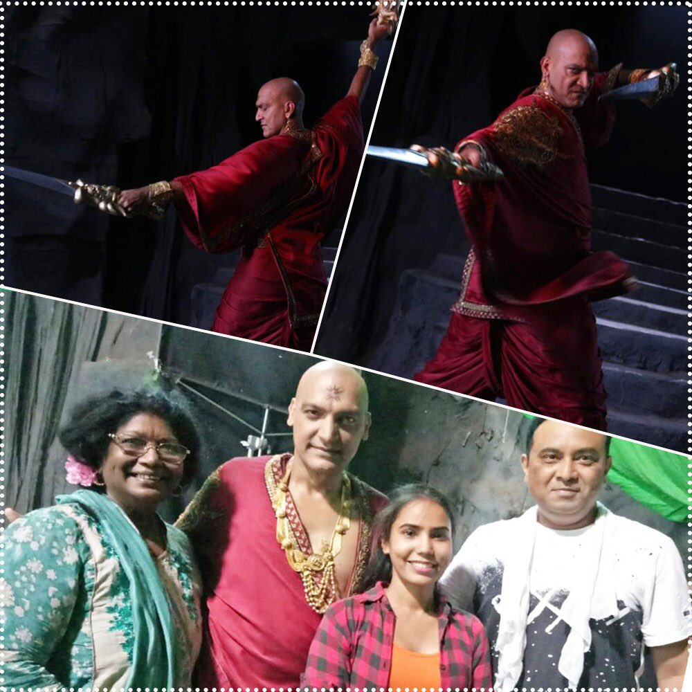 My show is helping me rediscover myself as an actor everyday. Some glimpse of 'MRIT TANDAV' from my upcoming episode.  Thanks to my Choreographer Habiba ji, Dir. Rahul ji & my entire team.  Watch #ParamavtarShriKrishna Mon-Fri 8.30pm on &TV  #Actor #Kans #Dance #PeninsulaPictures https://t.co/nji07pHk6p