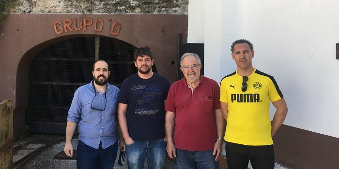 Members of the ESMIMET project visit the tungsten mines of Borralha https://t.co/hvoEUnhzKQ