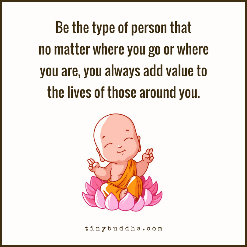Be the type of person that no matter where you go or where you are, you always add value to the lives of those around you. https://t.co/Au54LwTFTu
