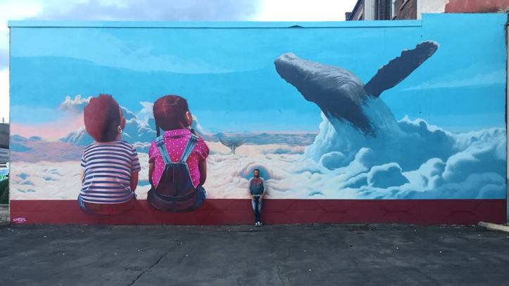 ... friendship. Art by Smates in Ontario, Canada #StreetArt #Art #Friendship #Whales #Graffiti #Mural #UrbanArt #Ontario https://t.co/c3JFgmP7x5