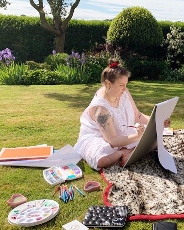 Channeling Jane Austen in Welsh gardens and wearing nightgowns all day. ???????????? https://t.co/SdGrEcgKJj