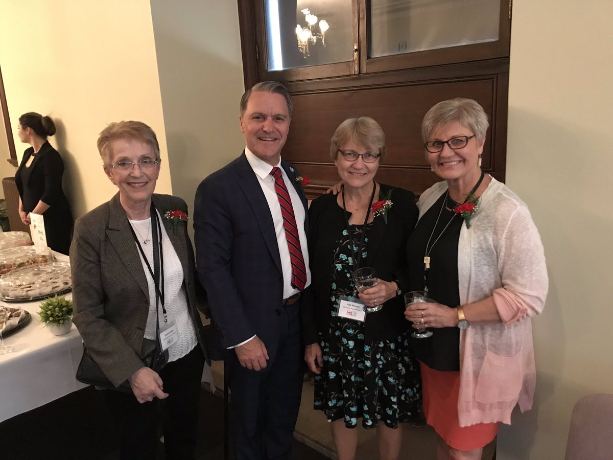 test Twitter Media - Canada has one of the highest rates of MS in the world, with one in every 385 people living with the disease. That's why it was important to bring greetings at @MSSocietyCanada's reception today and proclaim May as MS Awareness Month. #mbpoli https://t.co/mhdATn5zO6