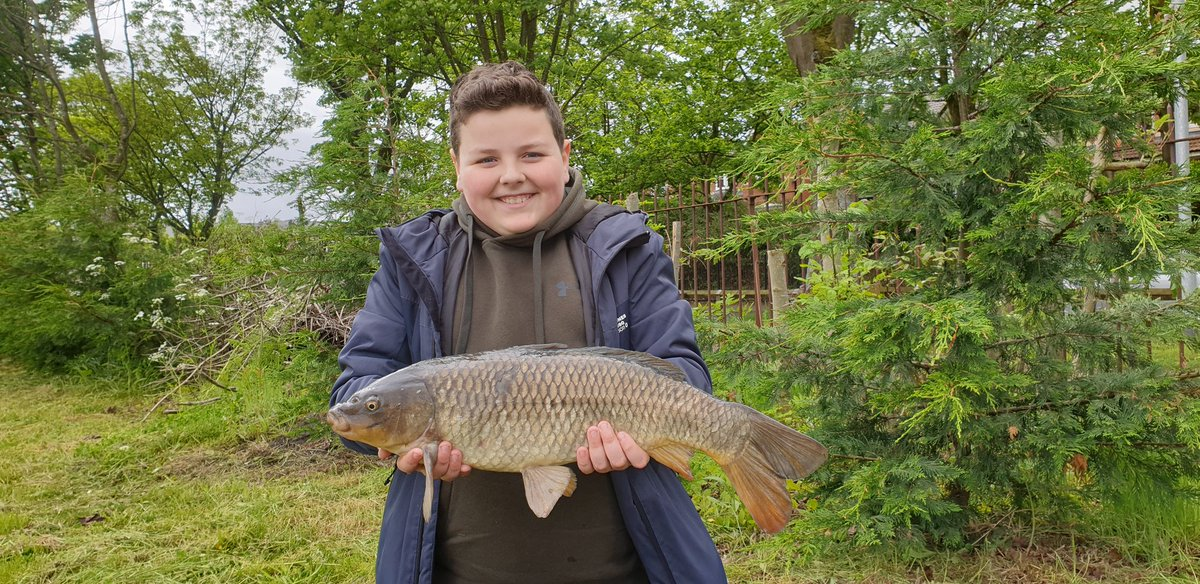Another belter common for matty.  The kids a natural. #carpfishing #CARP #thekid #<b>Carpy</b> https