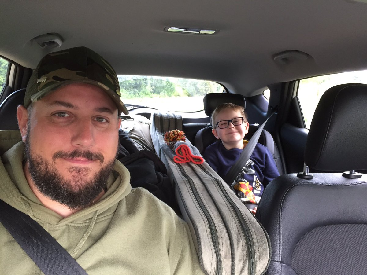 Early <b>Bird</b>s! Waiting to get in and catch some fish #fishing #carpfishing #fatherandsontime #p