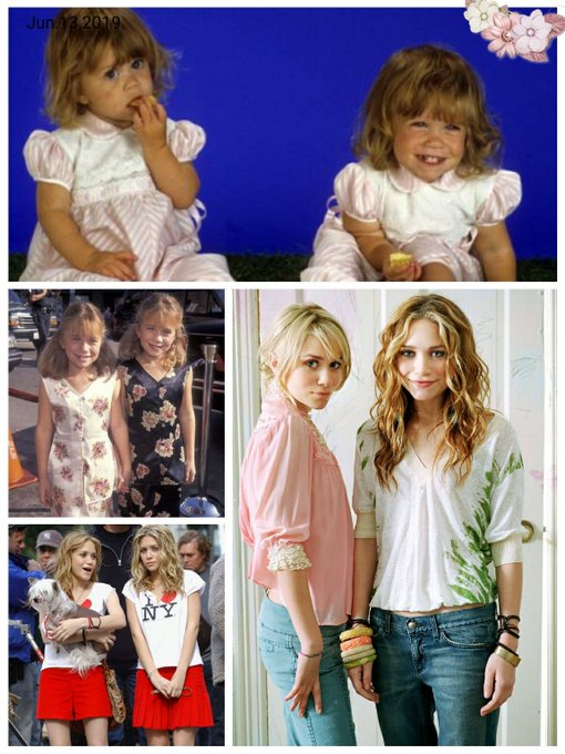 Happy Birthday to Mary-Kate & Ashley Olsen !