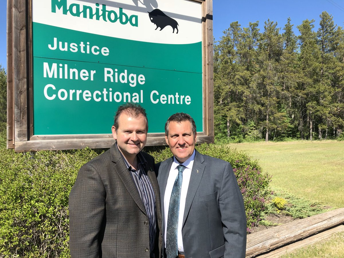 test Twitter Media - Thanks to the Deputy Superintendent and all the staff for welcoming @WayneEwaskoMLA and I into Milner Ridge Correctional Centre for a tour today. And thank you for everything you do to keep Manitobans safe. #mbpoli https://t.co/e9DDm7Zi0Z