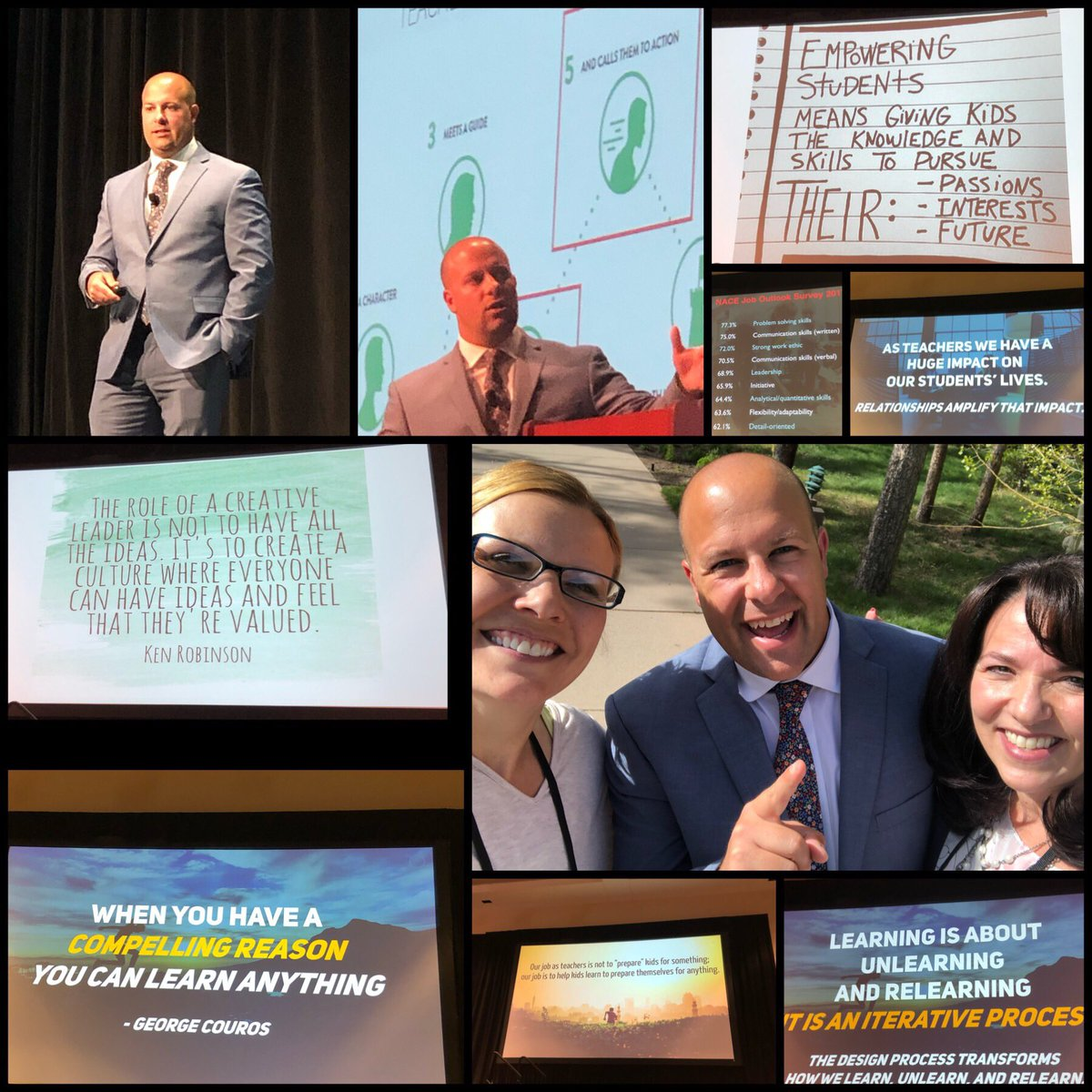 test Twitter Media - Standing ovation for @ajjuliani  at Innovative Education Colorado #InnEdCO19 Keynote! https://t.co/JxfUrPYvzu