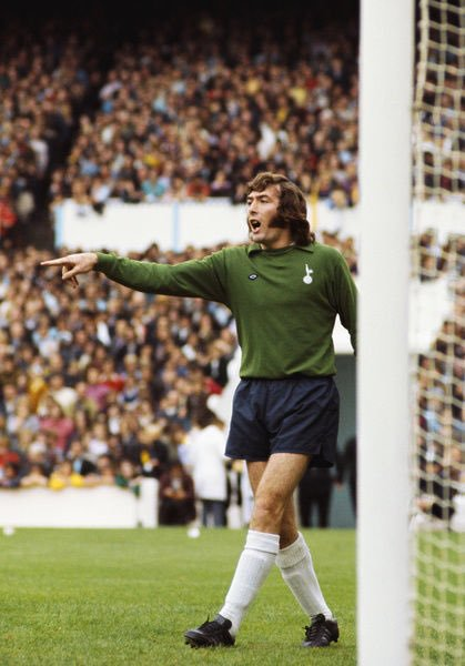 A Very Happy Birthday to Tottenham Hotspur Legend Pat Jennings.