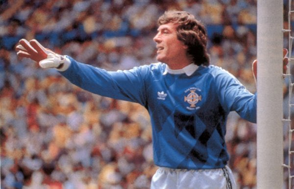 A very happy birthday to the great Pat Jennings