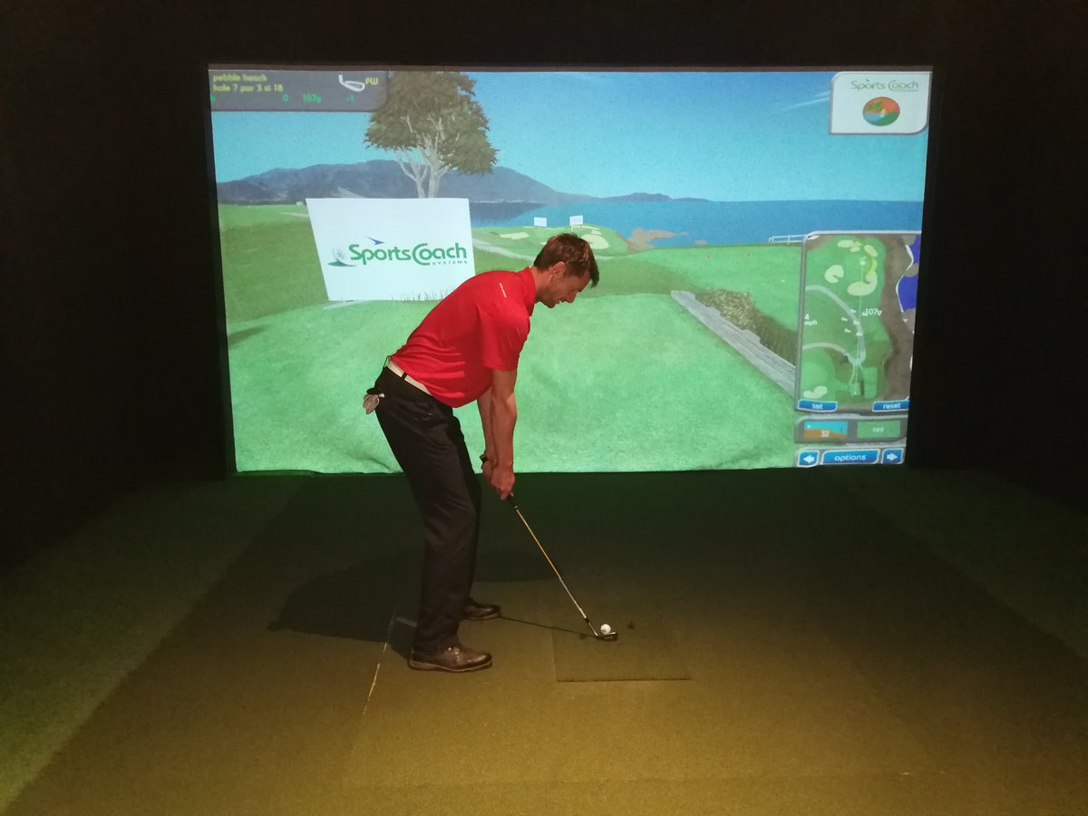 test Twitter Media - The @usopengolf starts Thursday at Pebble Beach in California ⛳️🏌️‍♂️  Why not come & play the course yourselves on our golf simulators?  It's just £20* an hour and it's out of the rain!!!  To book simply call us on 01446 78178.  *takes approx. 2hours for 4 people to play 18 holes https://t.co/8Wyo3OV5Hu