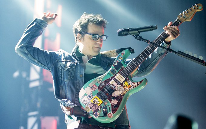 Happy forty-ninth birthday tomorrow, Rivers Cuomo: