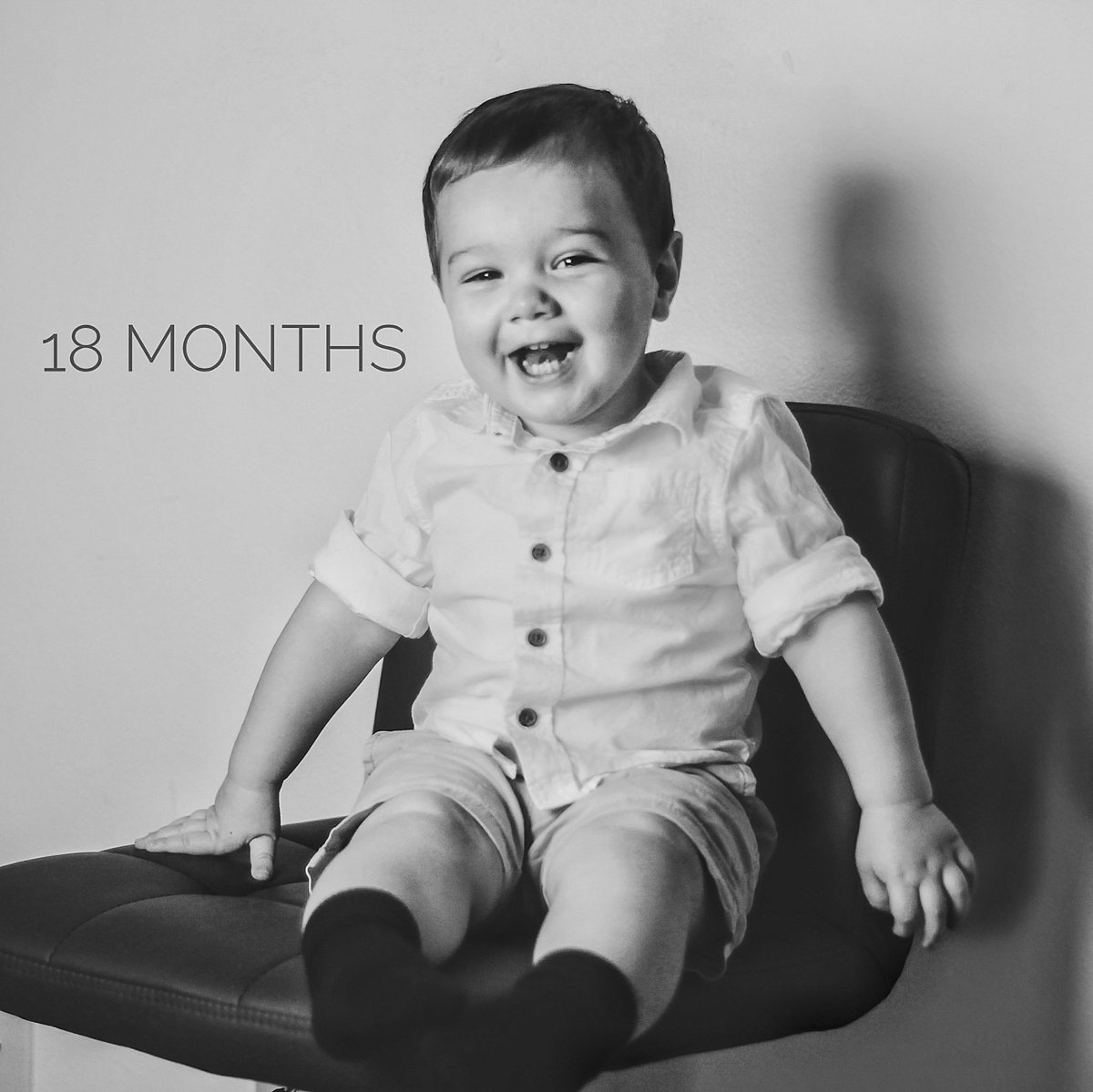 I'm a day late tweeting this but Carter is 18 months old now 😭❤ #18monthsold https://t.co/RN69JV7LYa
