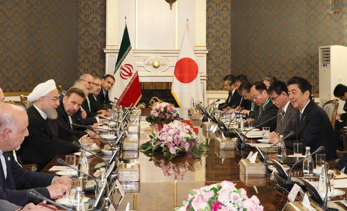 test ツイッターメディア - 《総理の動き》6月12日(現地時間)安倍総理はイラン・イスラム共和国のテヘランを訪問しました。総理は、歓迎式典に出席した後、ハッサン・ローハニ・イラン大統領との会談及び共同記者発表を行いました。 https://t.co/1YSPxh6BET https://t.co/cya9Sg5ocT
