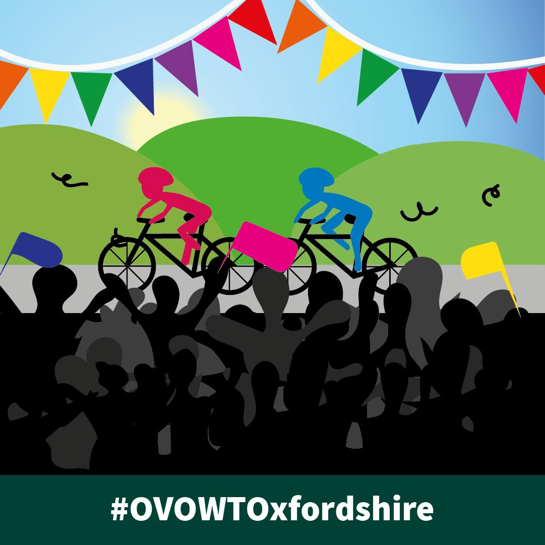 Get behind the UK's women elite cyclists by supporting them as they race through. Schools, Clubs and the community are welcomed to get involved.  https://t.co/HO91XH8XuE   #OVOWTOxfordshire