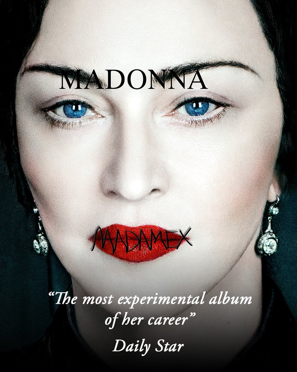 """The most experimental album of her career."" Madame ❌ by @Daily_Star ❌ https://t.co/oYUk4UbSTh https://t.co/yKrZGJt5tK"