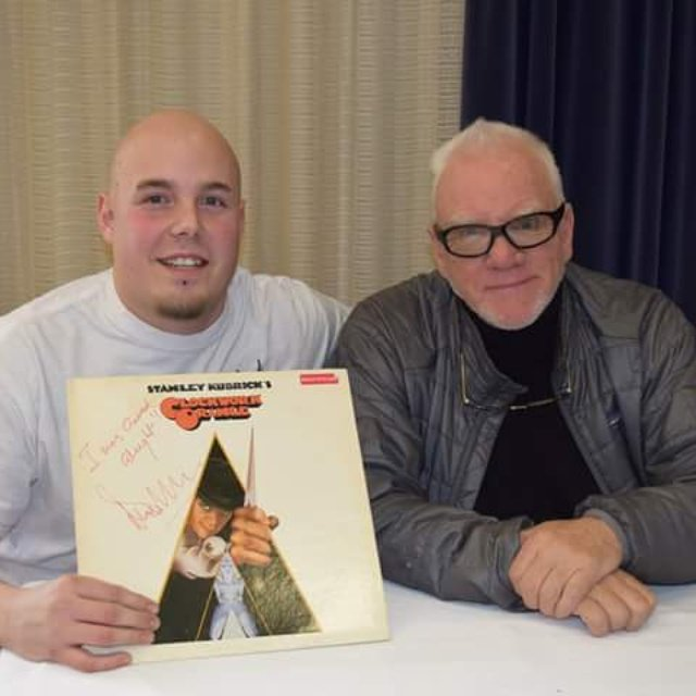 Happy 76th Birthday to Malcolm McDowell.