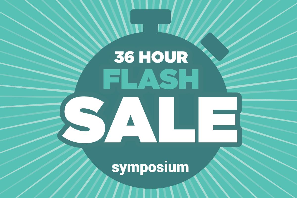 test Twitter Media - Symposium ticket flash sale ends soon! Get your discounted conference pass by visiting our website (https://t.co/XTiDZNJBFt) in the next 9 hours to save. Don't forget to use code FLASH50! https://t.co/dpaU255M0a