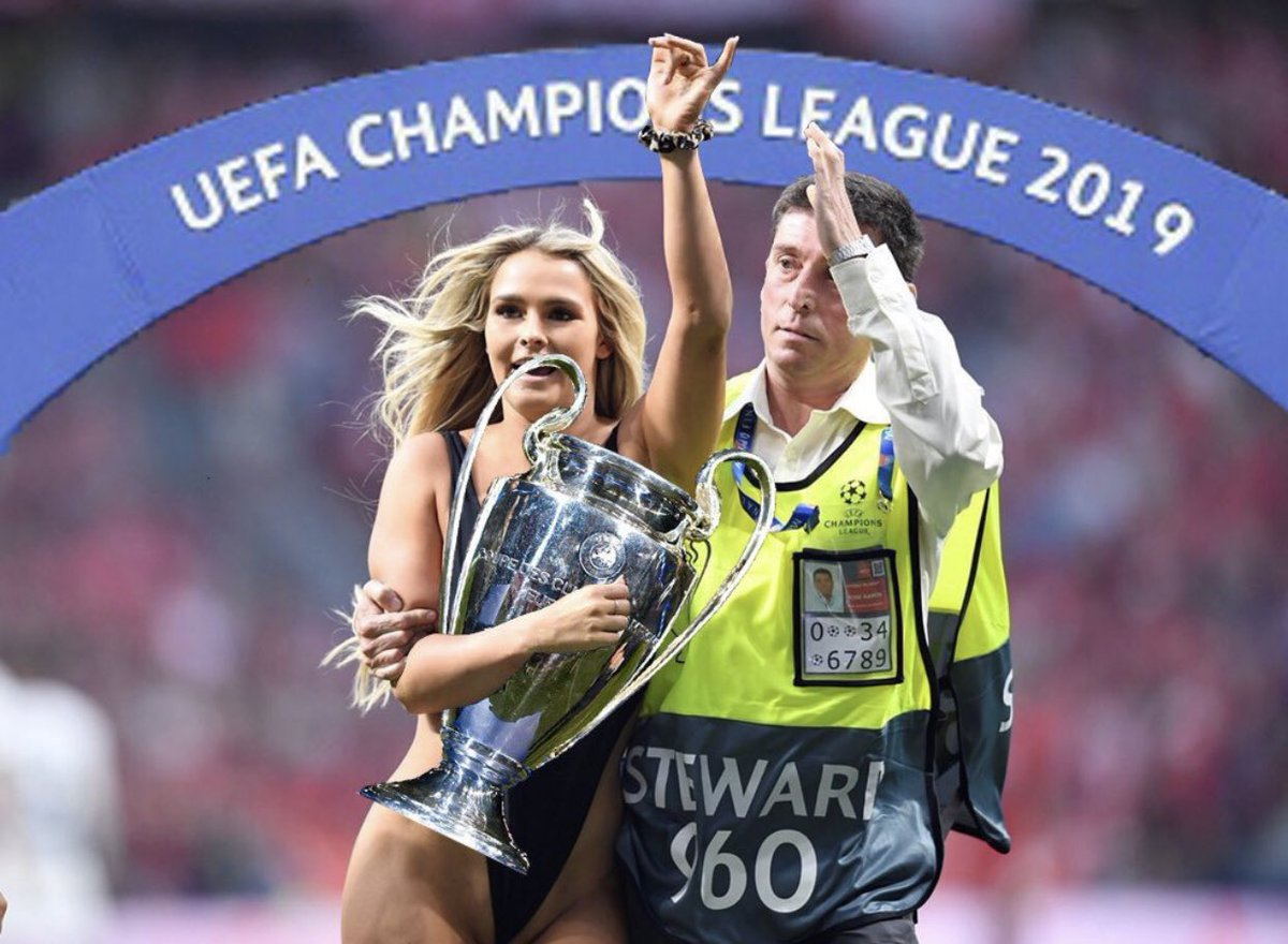 RT @Enew_Ahmed: #kinsey_sue the real winner #UCLfinals ????☝️ https://t.co/H2e3ZnkkHv
