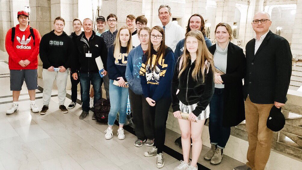 test Twitter Media - Pleased to meet with students from PCI's Grade 12 Law Class today. One more month and you're grads, congratulations! #mbpoli https://t.co/ZaSB3YTczv