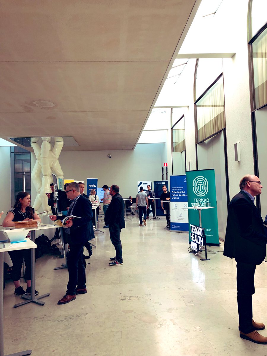 test Twitter Media - #HelsinkiStartupDay we're ready! Come say hi if you're interested in #VC funding or investing in #startups 👋   #HSD2019 #investor #helyes #NordicMade https://t.co/QfKMI53rvt