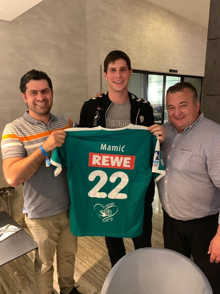 +++NEUZUGANG+++ 💪Der kroatische Nationalspieler Marko Mamic wechselt im Sommer vom polnischen Meister KS Kielce zum SC DHfK Handball und hat einen Dreijahresvertrag bis 2022 unterzeichnet! ✍💚 ___________ ℹ Alle Infos zum Transfer: https://t.co/1Q7Sj4DFAy https://t.co/NjlL4PIN9s