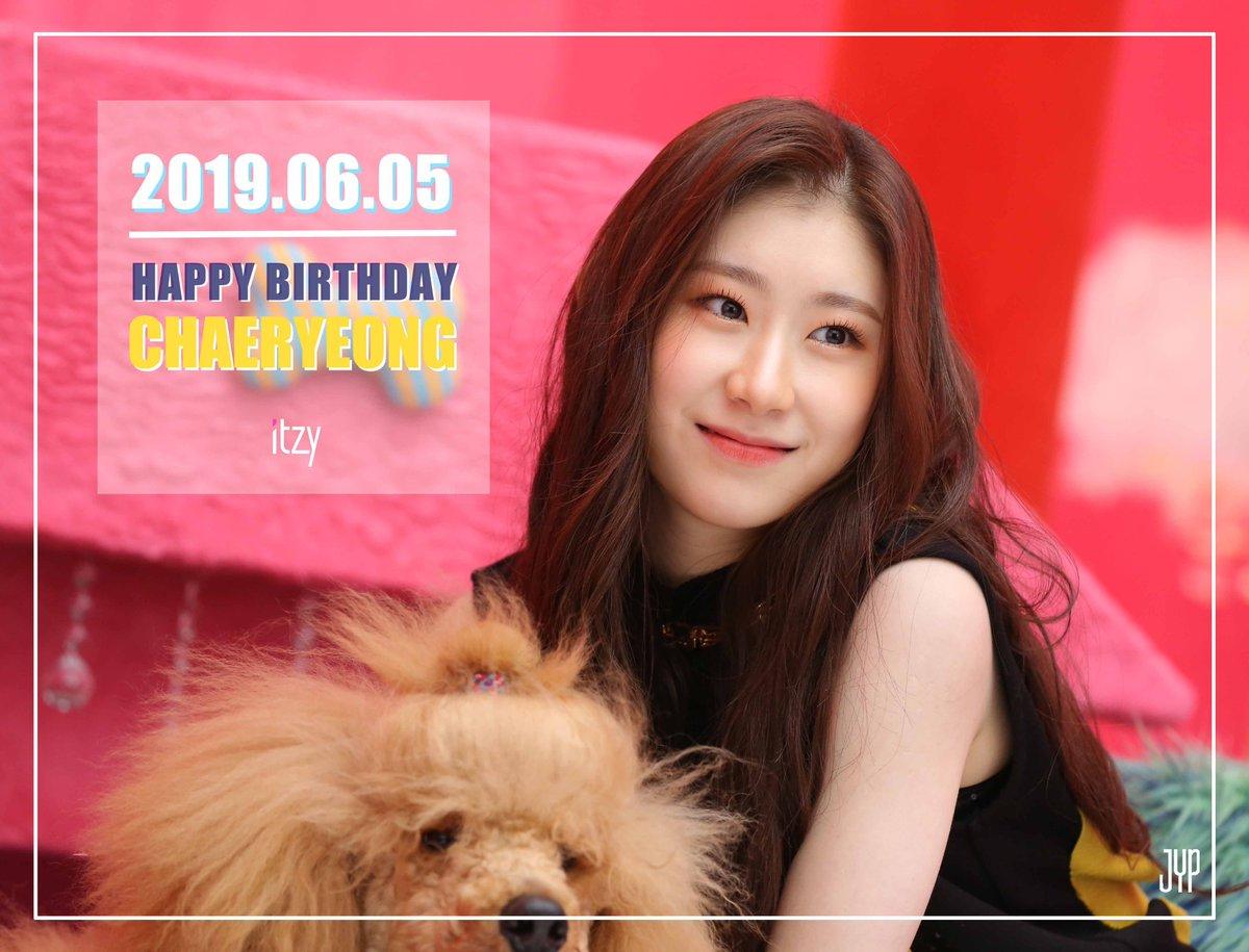 RT @jypnation: HAPPY BIRTHDAY Chaeryeong  #HappyChaeryeongDay https://t.co/Yqt3yXUq9c