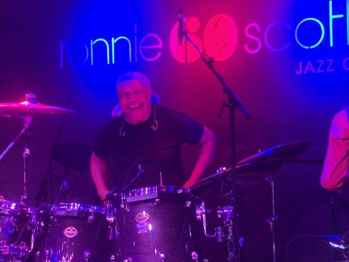 Great gig  Billy Cobham Band feat. Randy  Brecker . Happy Birthday.