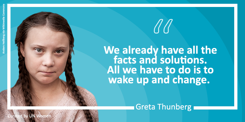 16-year-old Swedish climate activist @GretaThunberg launched a #schoolstrike4climate. Her persistence inspires us to protect our 🌍. #WorldEnvironmentDay https://t.co/w1nz2w2Iho