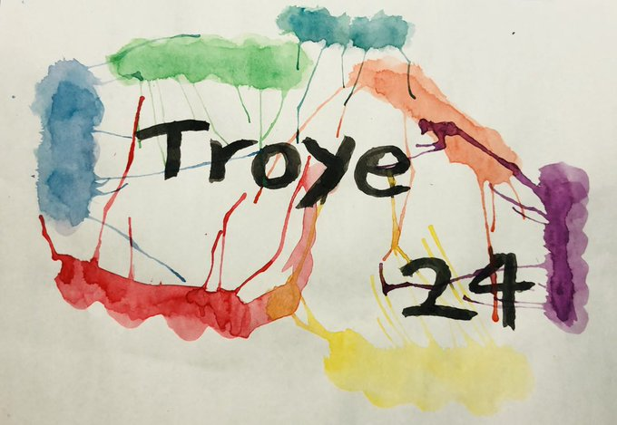 Happy birthday   Troye Sivan  Love u   Very