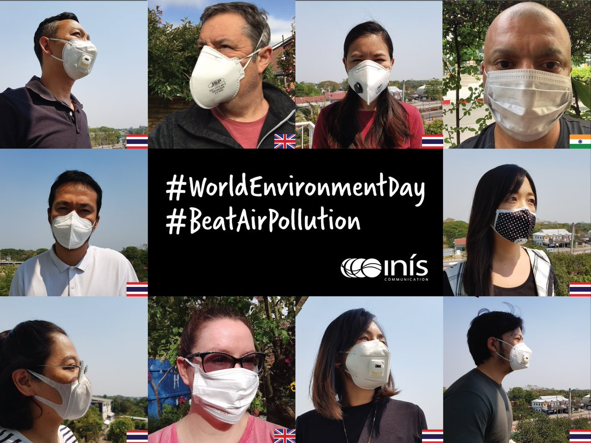test Twitter Media - On #WorldEnvironmentDay the Inis team take the #MaskChallenge to support #BeatAirPollution. We pledge to walk more and grow more plants in 2019. 😷 https://t.co/Qa9s6PA8aB
