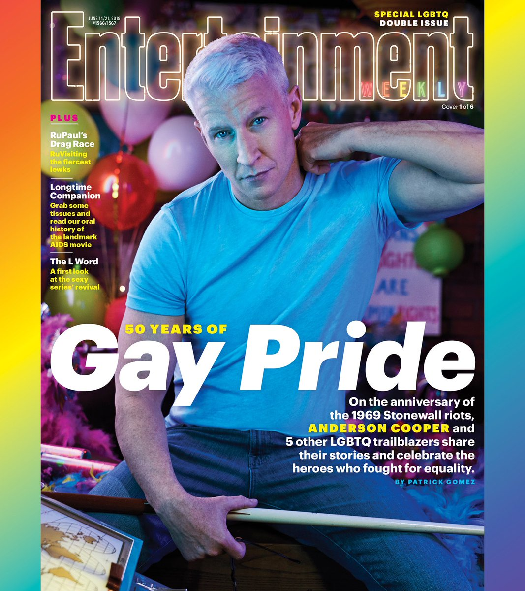 RT @andersoncooper: Thanks for the cover @EW! https://t.co/bk5dYEggMx
