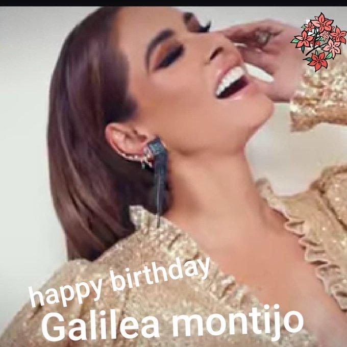 Happy birthday Galilea montijo